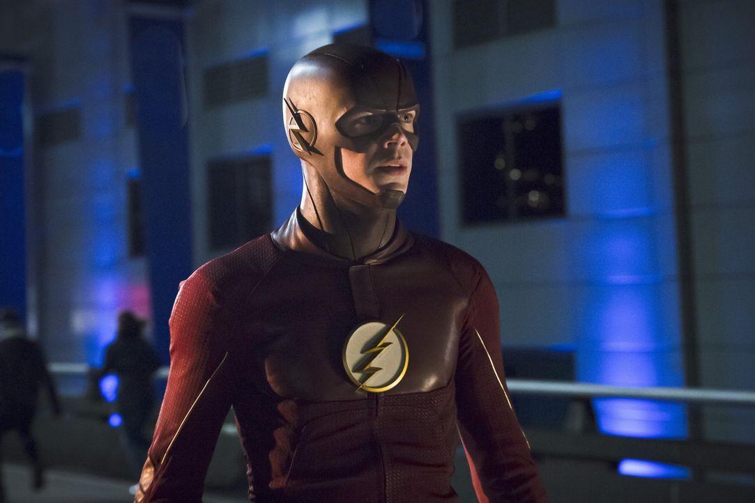 Als ein neues, schnelles Metawesen in Central City auftaucht, hat Barry alias The Flash (Grant Gustin) noch einen Grund, um schneller zu werden ... - Bildquelle: Warner Bros. Entertainment, Inc.