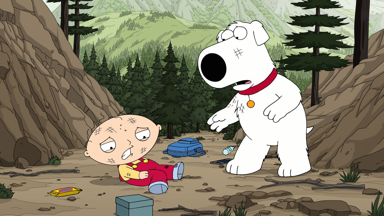 Stewie Griffin (l.); Brian Griffin (r.) - Bildquelle: 2018-2019 Fox and its related entities. All rights reserved.