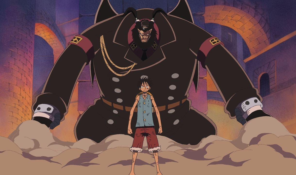 Direktor Magellan ist zu stark! Bon Curry flieht vor dem Feind! - Bildquelle: Eiichiro Oda/Shueisha, Toei Animation