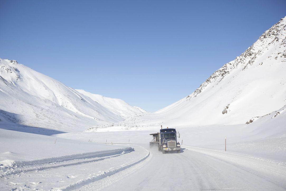 (4. Staffel) - Sie üben einen der gefährlichsten Jobs der Welt aus: die Ice Road Truckers ... - Bildquelle: 2010 A&E Television Networks.   All Rights Reserved.