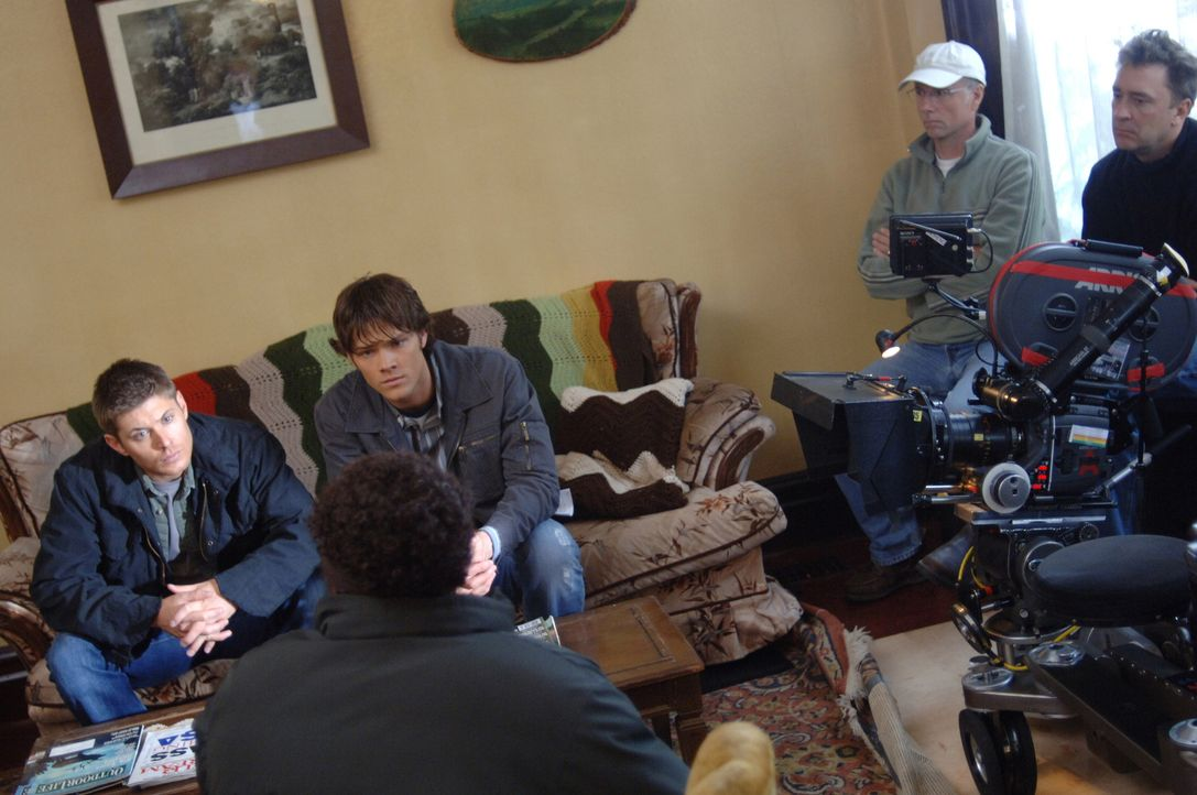 """Dreharbeiten zu """"Supernatural"""" - Episode """"Zu Hause"""" ... - Bildquelle: Warner Bros. Television"""