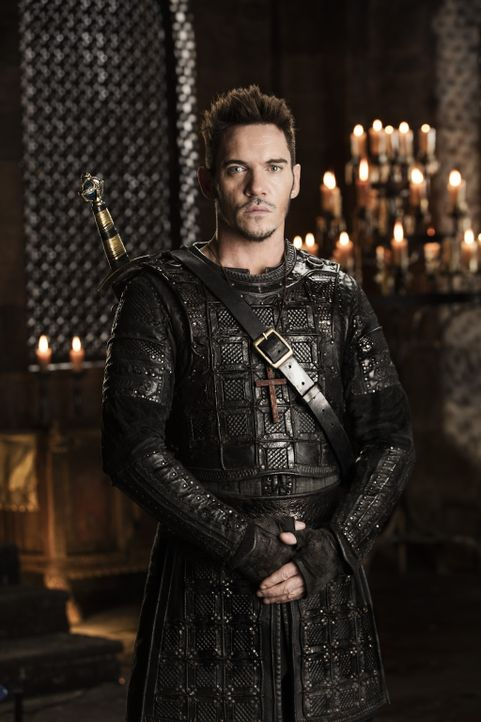 Bishop Heahmund (Jonathan Rhys Meyers) - Bildquelle: 2016 TM PRODUCTIONS LIMITED / T5 VIKINGS III PRODUCTIONS INC. ALL RIGHTS RESERVED.