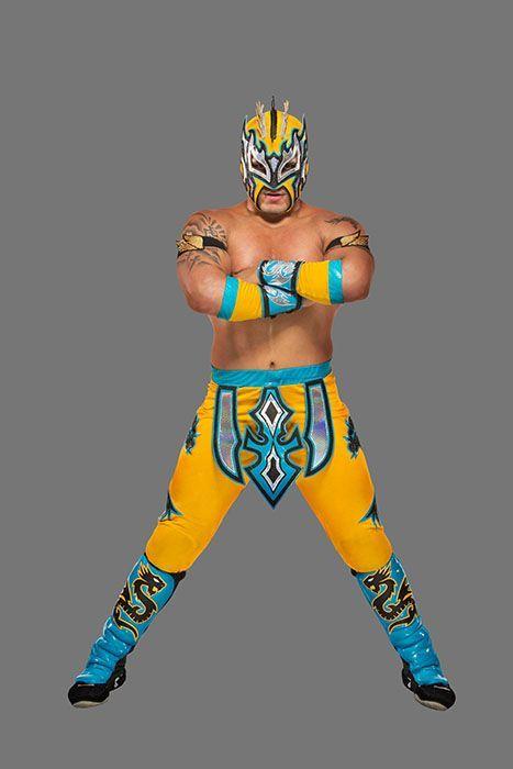 Kalisto - Bildquelle: 2016 WWE, Inc. All Rights Reserved.