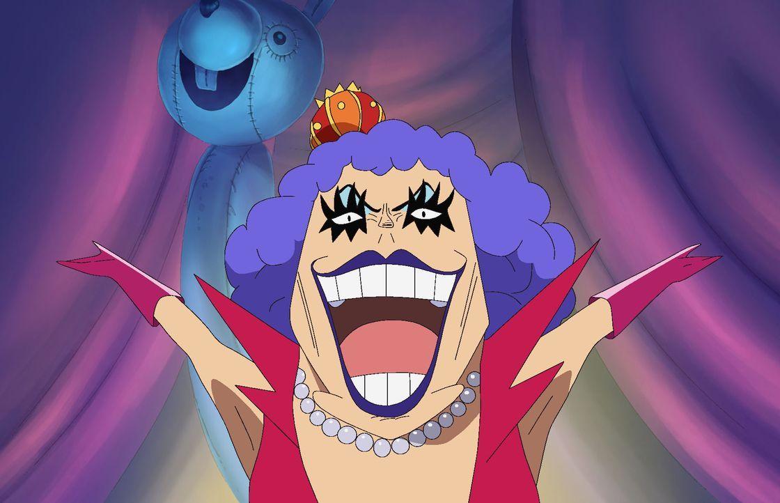Ruffys schmerzhafte Heilung. Iva-Sans magische Kräfte! - Bildquelle: Eiichiro Oda/Shueisha, Toei Animation