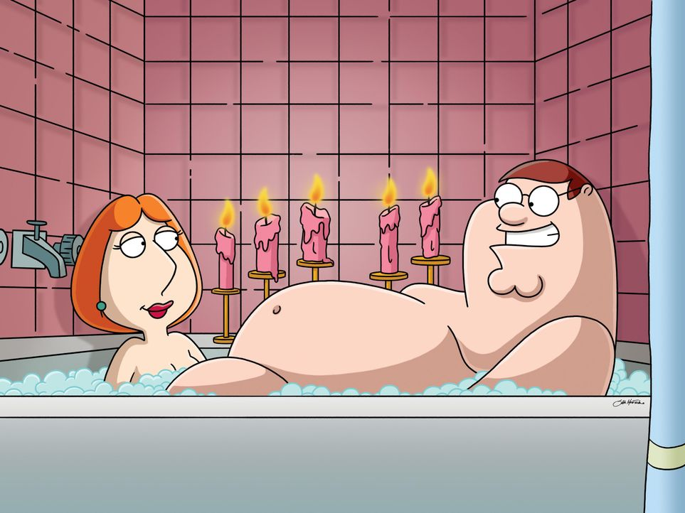 Lois Griffin (l.); Peter Griffin (r.) - Bildquelle: 2005 Fox and its related entities. All rights reserved.