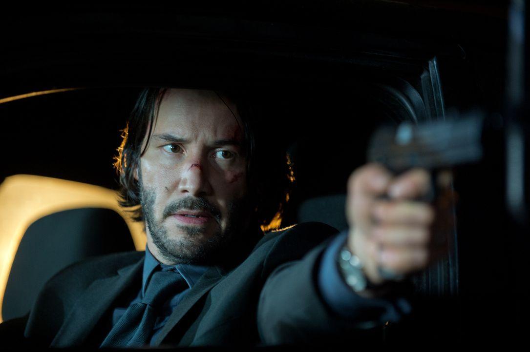 Leichen pflastern seinen Weg: Hitman John Wick (Keanu Reeves) auf mörderischem Rachefeldzug ... - Bildquelle: 2014 SUMMIT ENTERTAINMENT, LLC. ALL RIGHTS RESERVED.