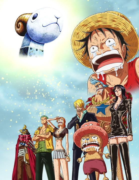 One Piece: Merry - Artwork - Bildquelle: Film   1999 Toei Animation Co., Ltd.