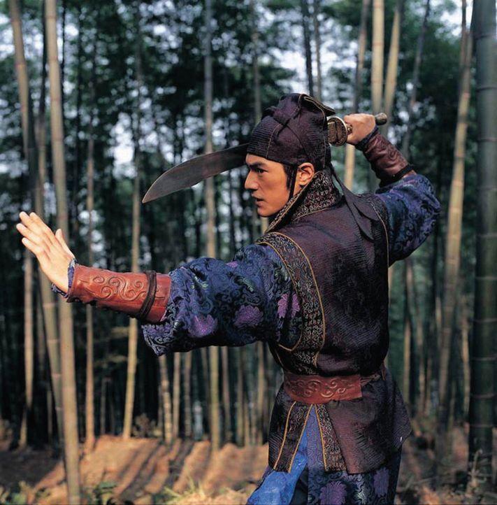 Auf der Flucht vor ihren Verfolgern werden die blinde Mei und Jin (Takeshi Kaneshiro) immer wieder in Kämpfe mit Soldaten verwickelt, in denen Jin... - Bildquelle: Constantin Film