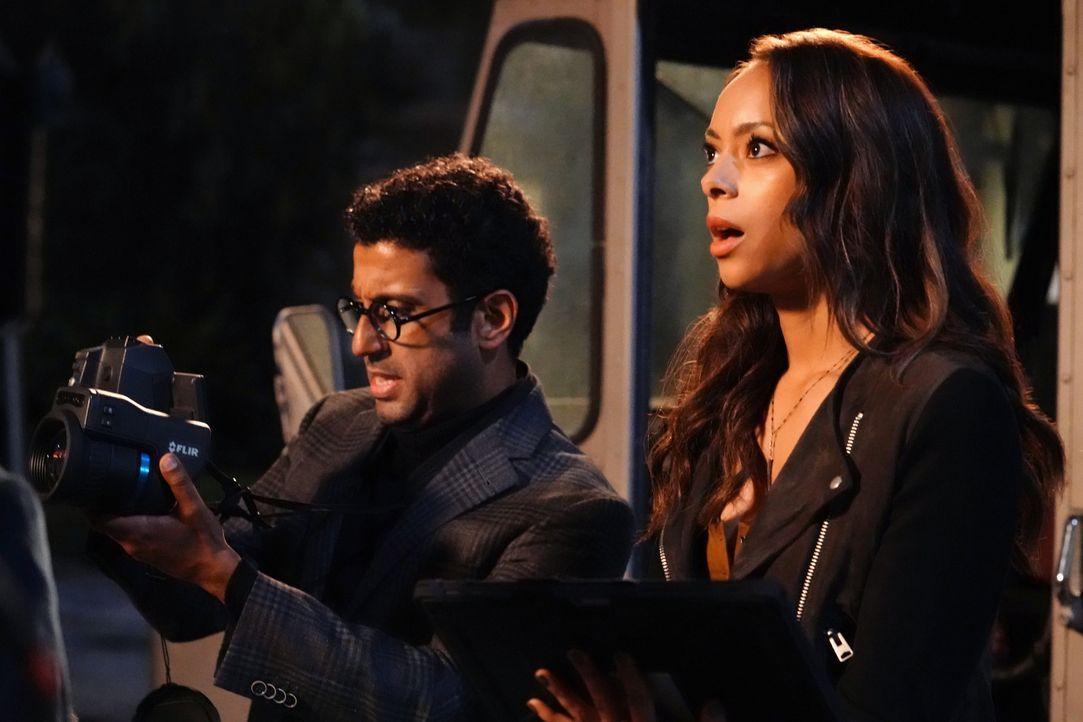 Noch ahnen Barry (Adeel Akhtar, l.) und Annie (Amber Stevens West, r.) nicht, dass ein Nicht-Fall schon bald weitaus größere Kreise ziehen könnte -... - Bildquelle: 2017 Fox and its related entities. All rights reserved.