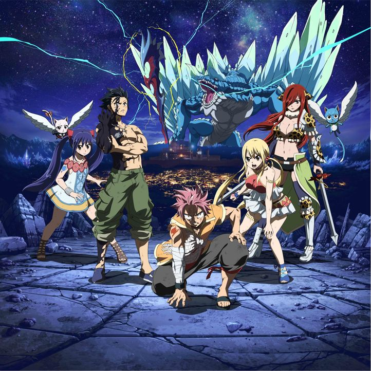 Fairy Tail Movie: Dragon Cry - Artwork - Bildquelle: Hiro Mashima,KODANSHA/FAIRY TAIL DC Movie Committee. All Rights Reserved.