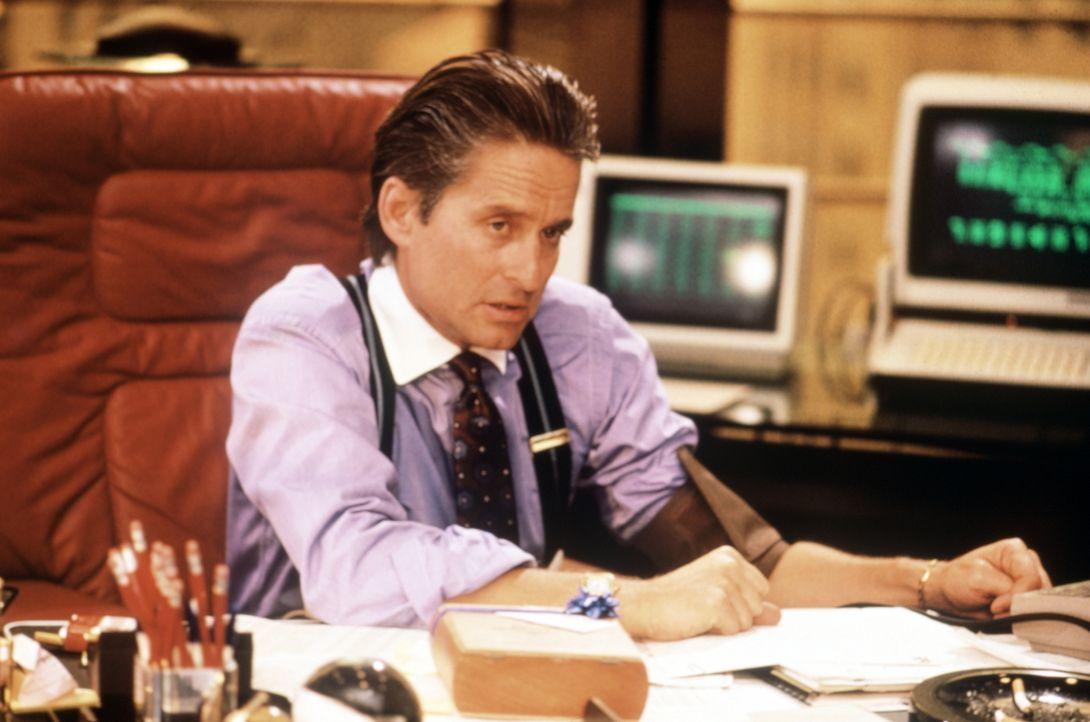 Gordon Gekko (Michael Douglas) ist einer der skrupellosesten und erfolgreichsten Börsenspekulanten an der Wall Street ... - Bildquelle: 20th Century Fox