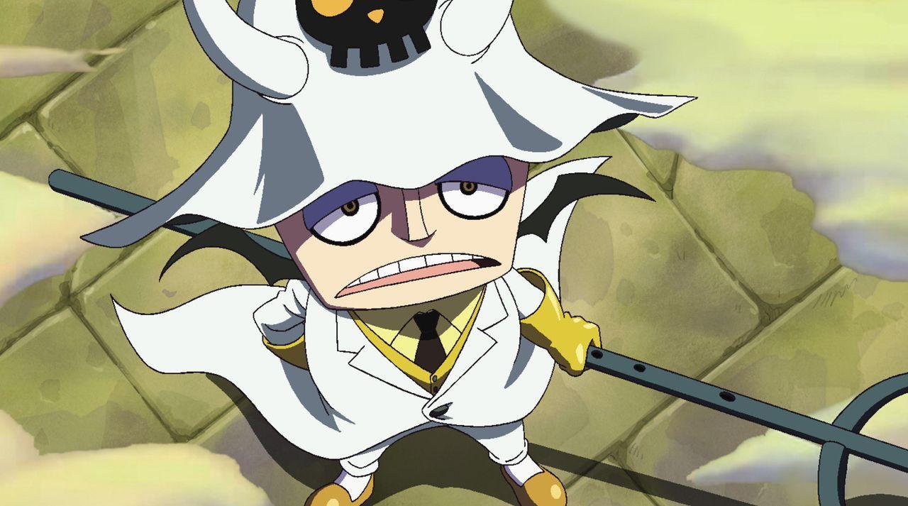 Die Falle von Hauptmann Saldeath. Willkommen in der Hungerhölle! - Bildquelle: Eiichiro Oda/Shueisha, Toei Animation