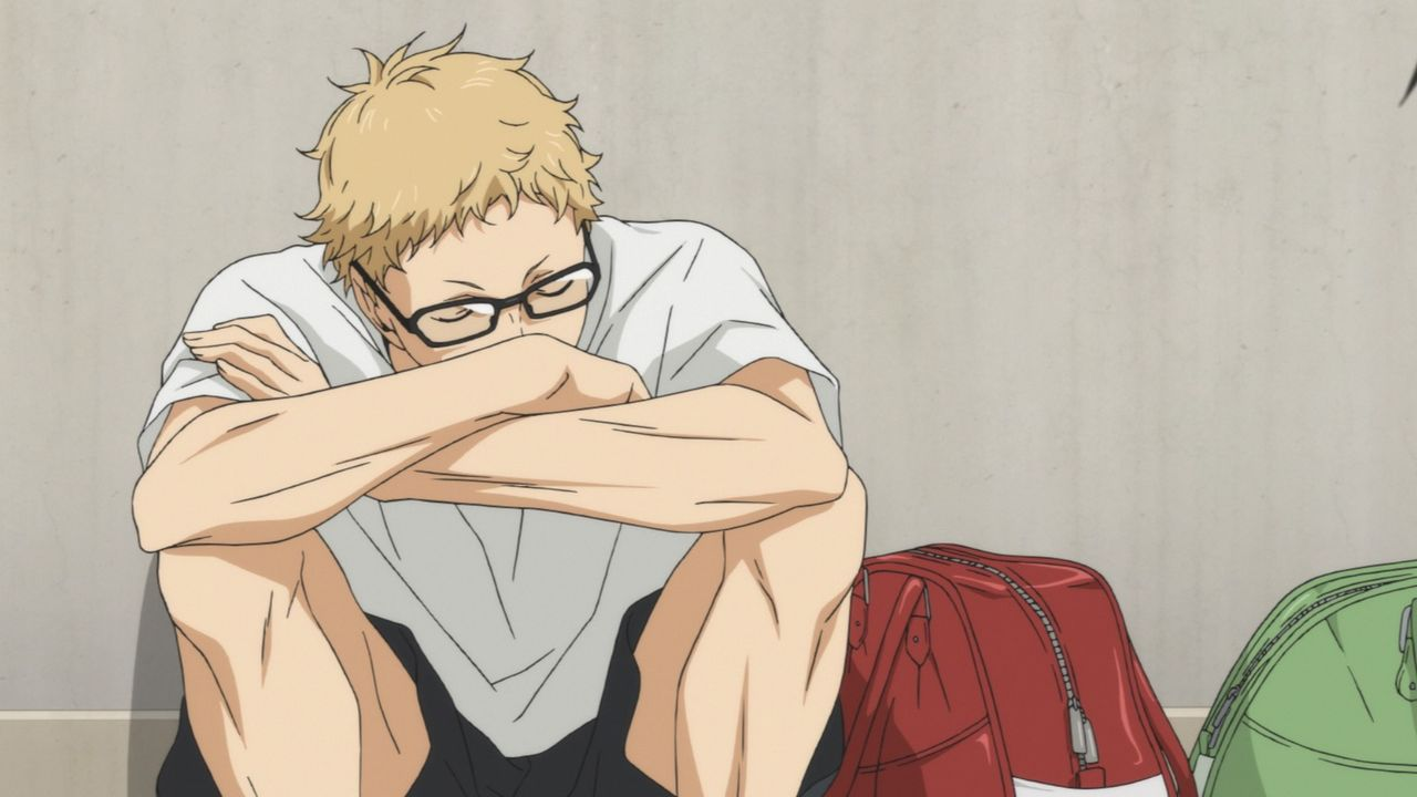 "Kei Tsukishima - Bildquelle: H. Furudate / Shueisha, ""HAIKYU!! 2nd Season"" Project, MBS  All Rights Reserved."