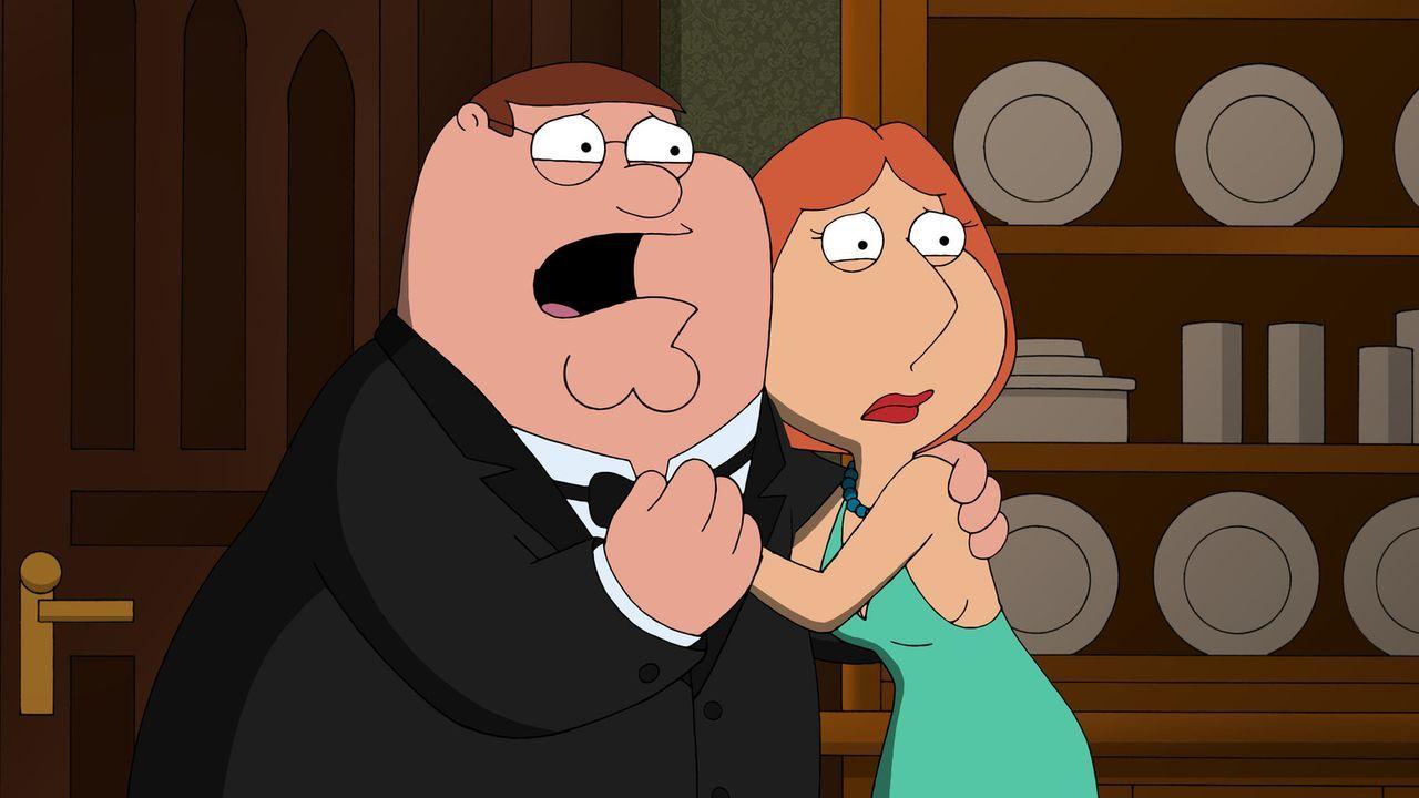 Um sie herum ereignen sich plötzlich mysteriöse Todesfälle. Sind Peter (l.) und Lois (r.) noch sicher?