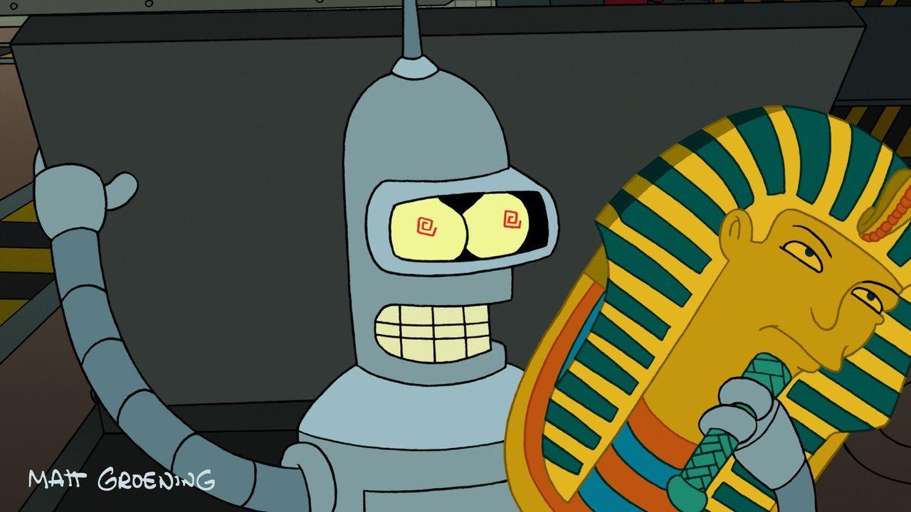 Die vielen Spam-Mails sorgen nicht nur für den Verlust der Firma - Bender ist von einem Virus betroffen ... - Bildquelle: 2007 Twentieth Century Fox Film Corporation. All rights reserved.