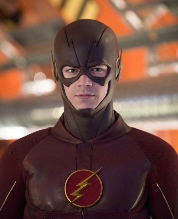 Nachdem Barry alias The Flash (Grant Gustin) erkannt hat, wer Zoom wirklich ist, setzt er alles daran, um erneut zur Erde 2 zu kommen. Doch ist eine... - Bildquelle: Warner Bros. Entertainment, Inc.