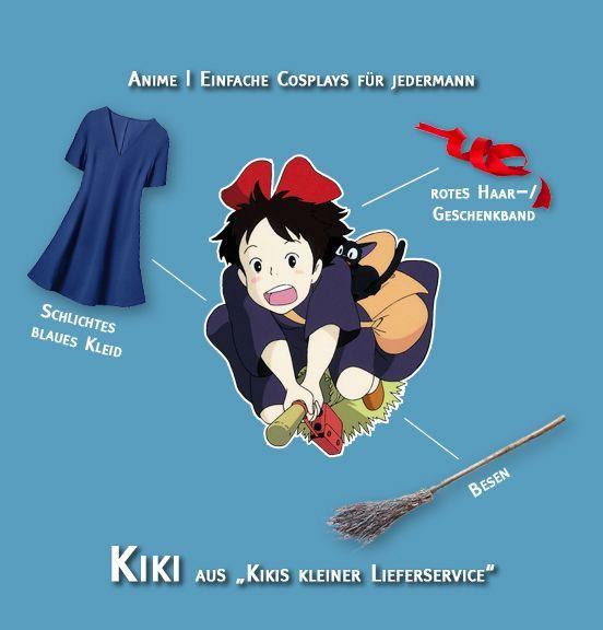 Cosplay Kiki aus Kikis kleiner Lieferservice