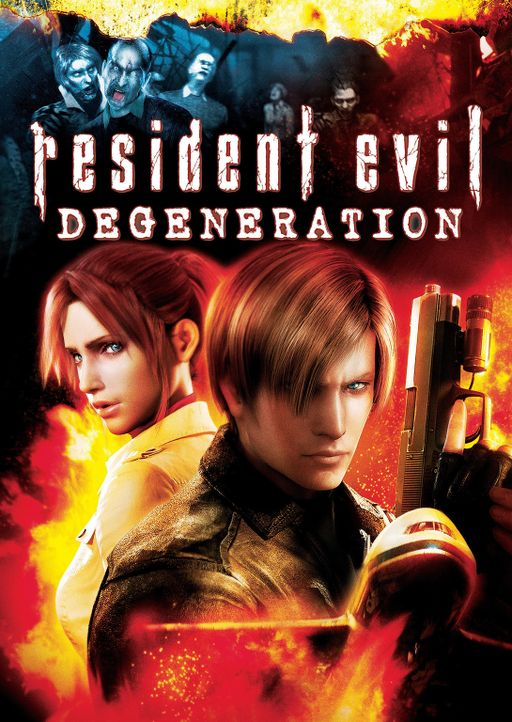 RESIDENT EVIL: DEGENERATION - Plakatmotiv - Bildquelle: 2008 Capcom Co., Ltd. and Resident Evil CG Film Partners. All Rights Reserved.