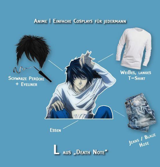 Cosplay L aus Death Note