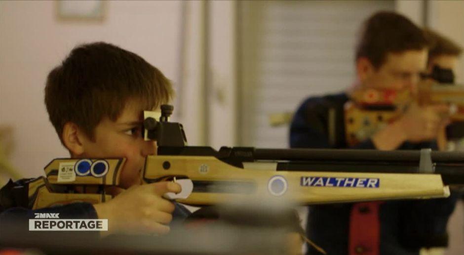 Tödliche Faszination: Schusswaffen