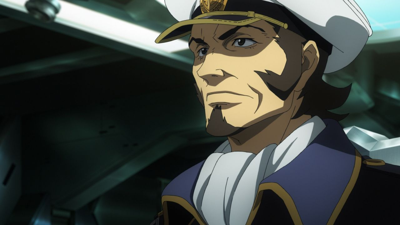Konfrontation - Yamato v. Andromeda - Bildquelle: S.NISHIZAKI/VOYAGER ENTERTAINMENT/STAR BLAZERS 2202 PRODUCTION COMMITTEE
