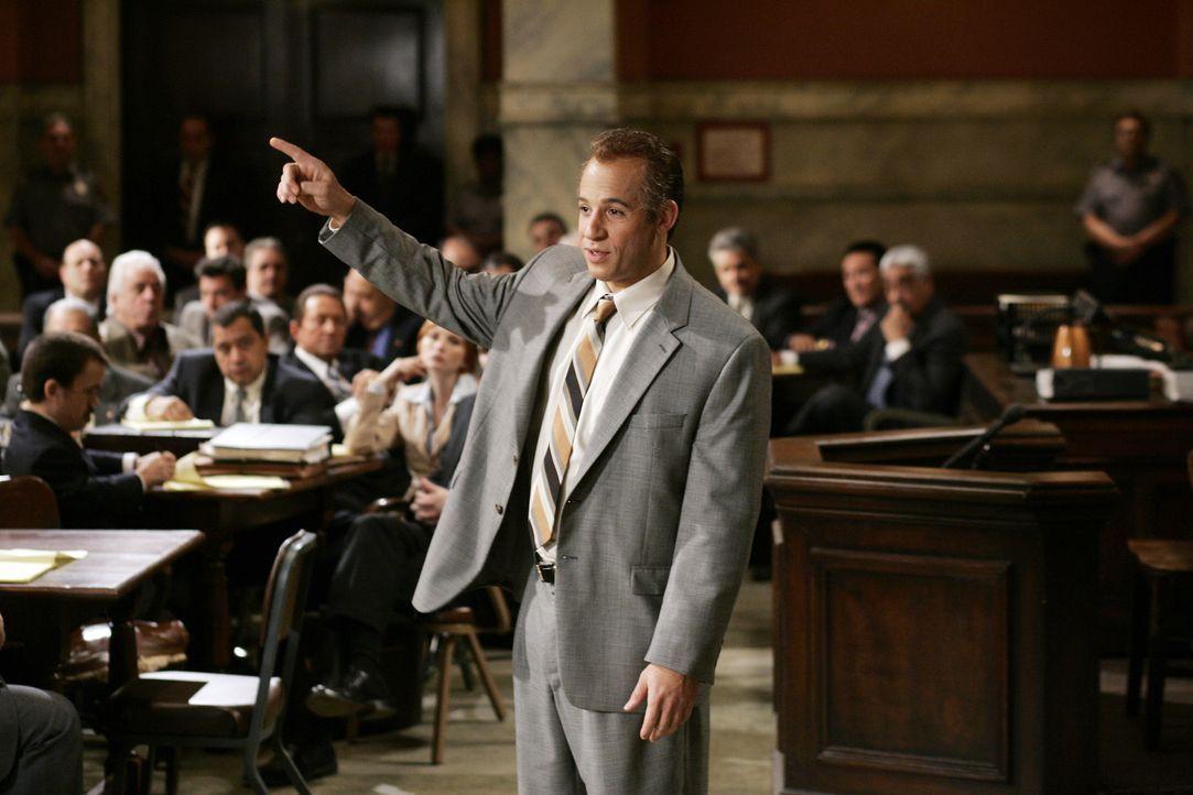 Mafiosi Jack DiNorsio (Vin Diesel) vertritt sich selbst vor Gericht. Das Motto des von ihm geführten Versuchs, mit Witz und scheinbarer Menschlichk... - Bildquelle: 2006 Yari Film Group Releasing, LLC