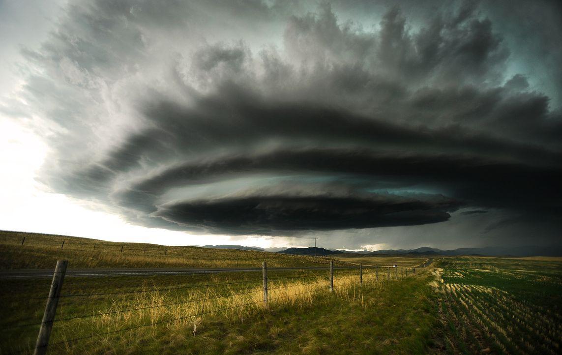 Für das perfekte Bild jagen die Tornado Hunter den gefährlichsten Stürmen hinterher ...