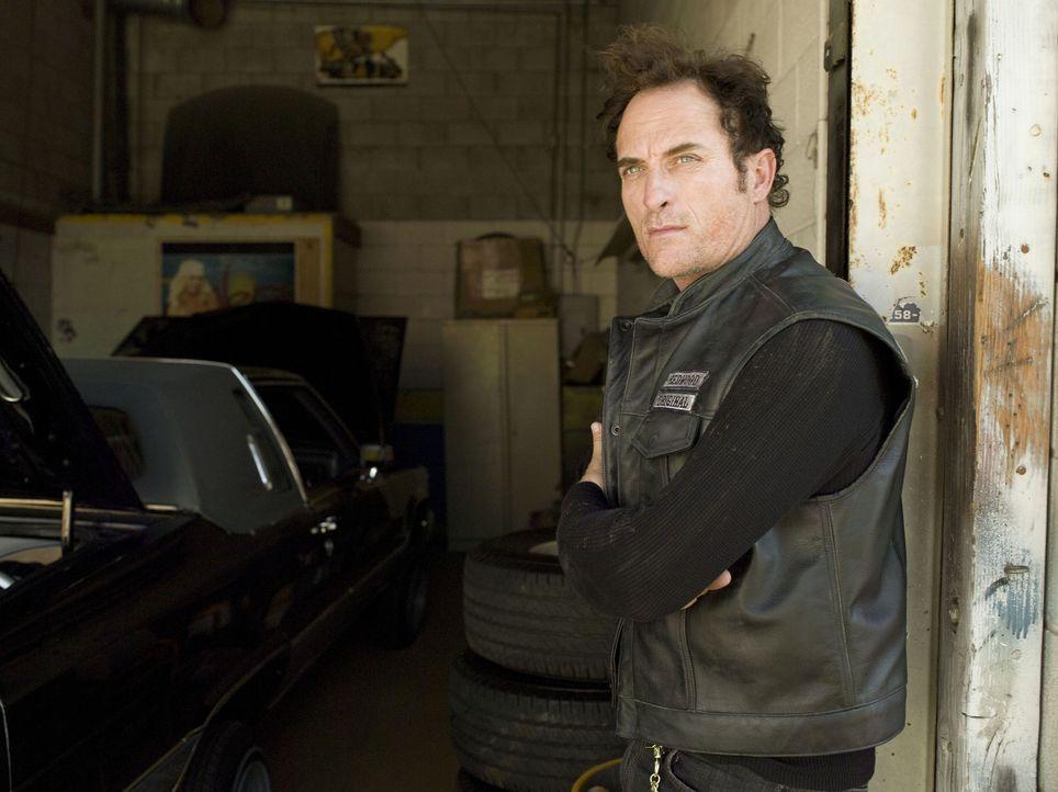 """(1. Staffel) - Alex """"Tig"""" Trager (Kim Coates) ist das brutalste Mitglied der """"Sons of Anarchy"""". Immer wieder müssen ihn die anderen ausbremsen ... - Bildquelle: 2008 FX Networks, LLC. All rights reserved."""