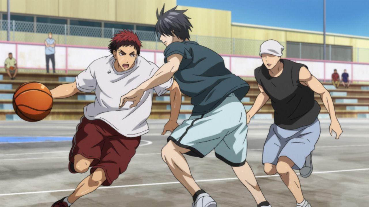 Als sich die Erstklässler für ein Basketballturnier einschreiben, ahnen sie ... - Bildquelle: Tadatoshi Fujimaki/SHUEISHA,Team Kuroko