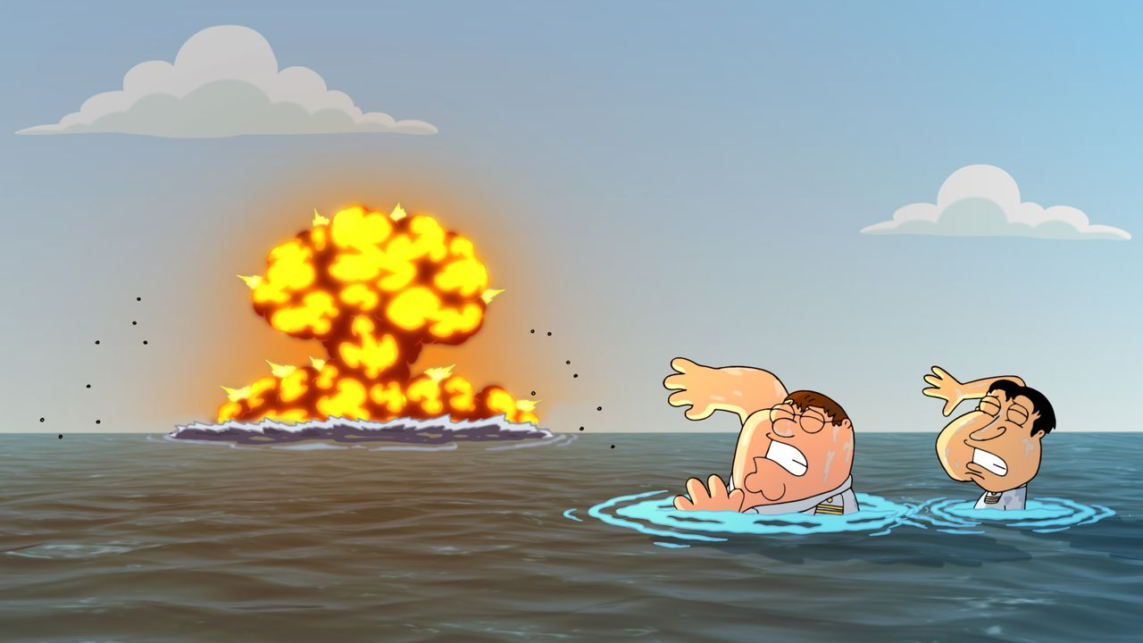 Peter Griffin (l.); Glenn Quagmire (r.) - Bildquelle: 2018-2019 Fox and its related entities. All rights reserved.