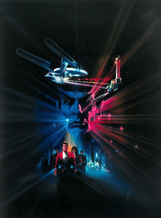 """Die Enterprise ist auf dem Rückweg zur Basis - ohne Mr. Spock, der im Kampf um die Wunderwaffe """"Genesis"""" sein Leben für die Mannschaft geopfert hatt... - Bildquelle: Paramount Pictures"""
