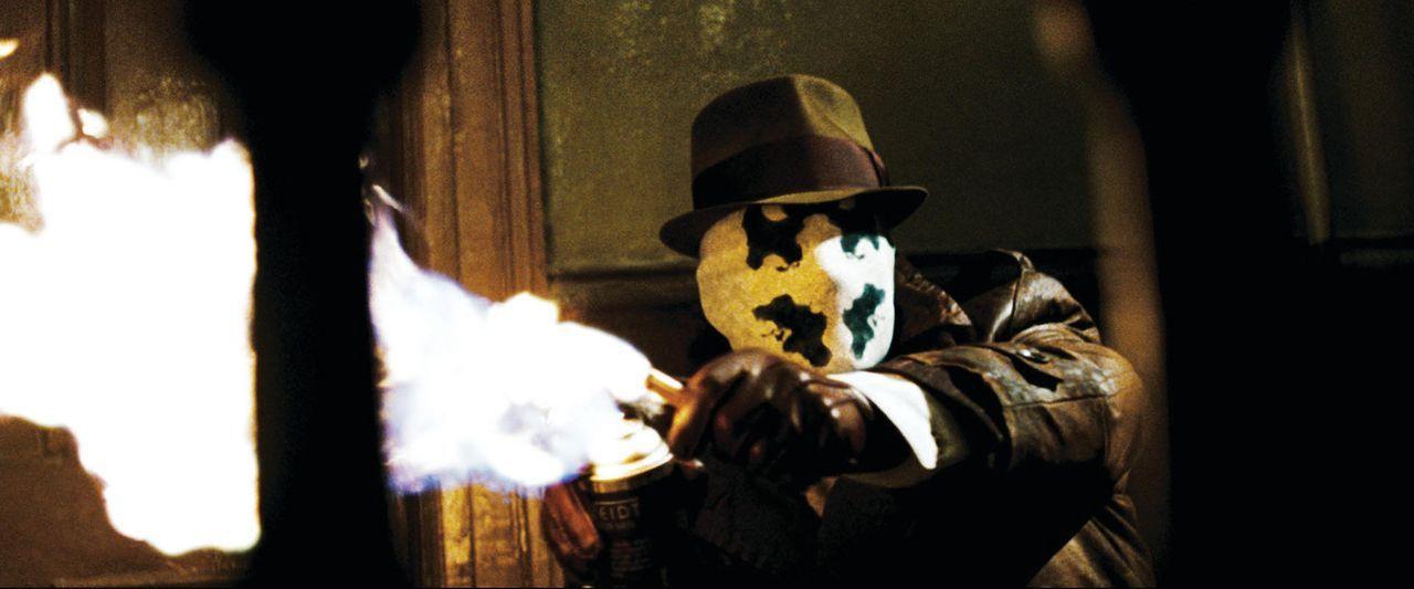 Als sein Superheld-Kollege The Comedian ermordet wird, glaubt Watchmen Rorschach (Jackie Earle Haley) an eine Verschwörung. Schon bald kommt er ein... - Bildquelle: Paramount Pictures
