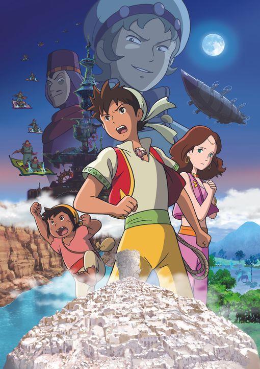 Die Abenteuer des jungen Sinbad - Movie 1 - Artwork - Bildquelle: PROJECT SINBAD