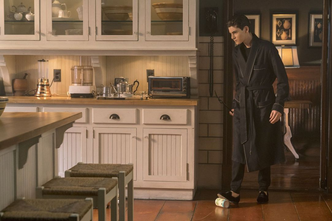 Bruce (David Mazouz) erhält einen überraschenden Besuch ... - Bildquelle: 2017 Warner Bros.