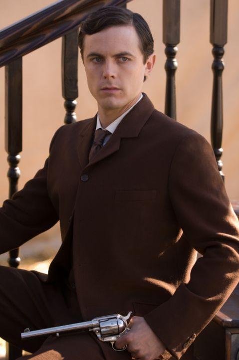 Robert Ford (Casey Affleck) verehrt Jesse James seit seiner Kindheit, doch dieser hat für ihn nur Hohn und Spott übrig. Allmählich erkennt Robert, d... - Bildquelle: TM and   2007 Warner Bros. Entertainment Inc. All Rights Reserved.