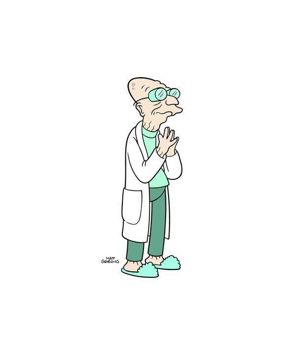 (9. Staffel) - Der 160-jährige Professor Farnsworth ist der Gründer und Chef von Planet Expres ... - Bildquelle: 2010 Twentieth Century Fox Film Corporation. All rights reserved.