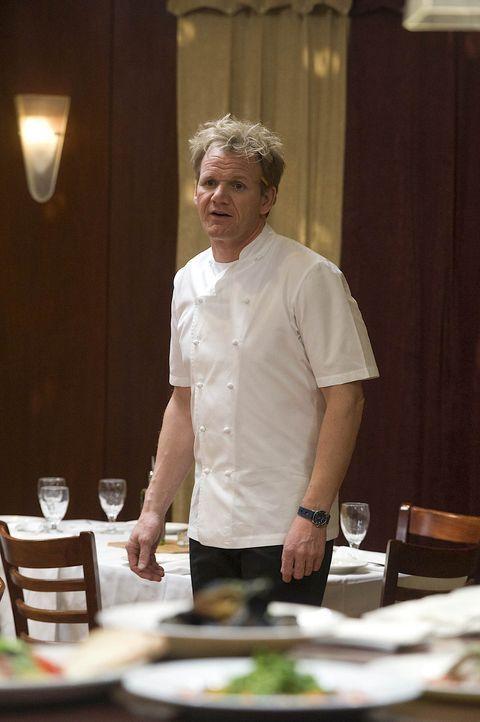 """Der Besitzer des """"Sabatiello's"""" ist hochverschuldet und erhofft sich von Gordons Besuch eine Belebung des Geschäftes. Doch seine Gäste kritisieren i... - Bildquelle: Fox Broadcasting. All rights reserved."""