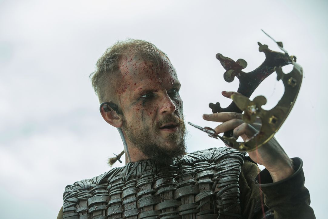 Konnte er wirklich König Brihtwulf erledigen? Floki (Gustaf Skarsgård) ... - Bildquelle: 2015 TM PRODUCTIONS LIMITED / T5 VIKINGS III PRODUCTIONS INC. ALL RIGHTS RESERVED.