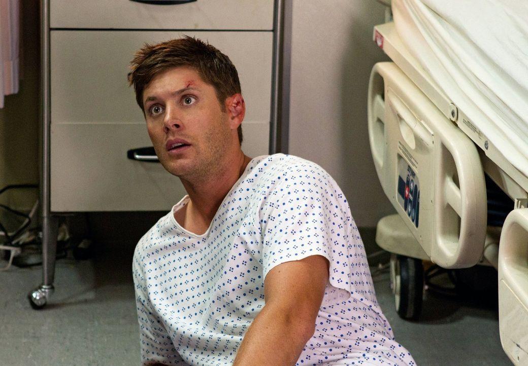 Findet sich im Leviathan-Krankenhaus wieder: Dean (Jensen Ackles) ... - Bildquelle: Warner Bros. Television
