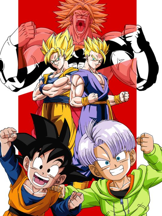 Dragon Ball Z: Brolys Rückkehr - Artwork - Bildquelle: Bird Studio/Shueisha, Toei Animation Film   1994 Bird Studio/Shueisha, Toei, Toei Animation