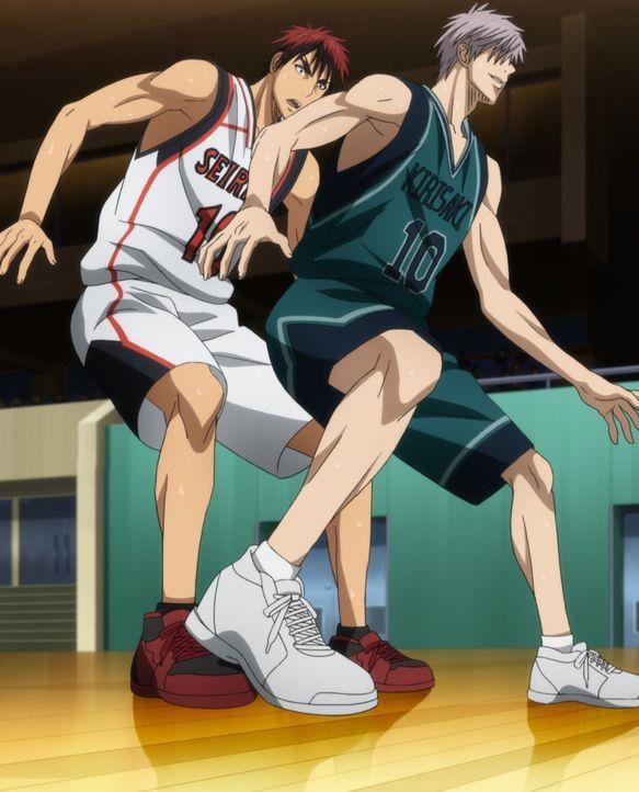 Wir sollten sie im Basketball besiegen! - Bildquelle: Tadatoshi Fujimaki/SHUEISHA, Team Kuroko