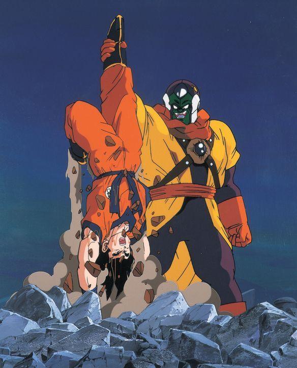 (v.l.n.r.) Son Goku; Slug - Bildquelle: 1991 TOEI ANIMATION CO., LTD.