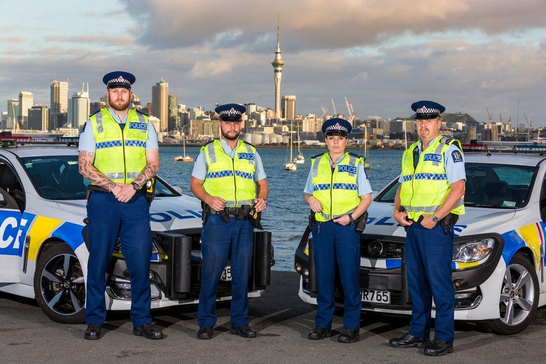 """Die Doku-Serie """"Police Force - Einsatz in Neuseeland"""" begleitet Po... - Bildquelle: Greenstone"""