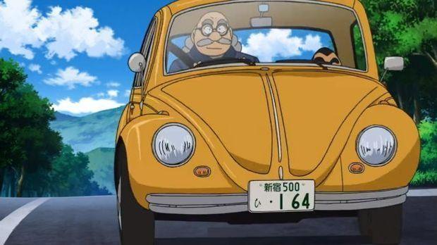 VW Käfer bei Detektiv Conan