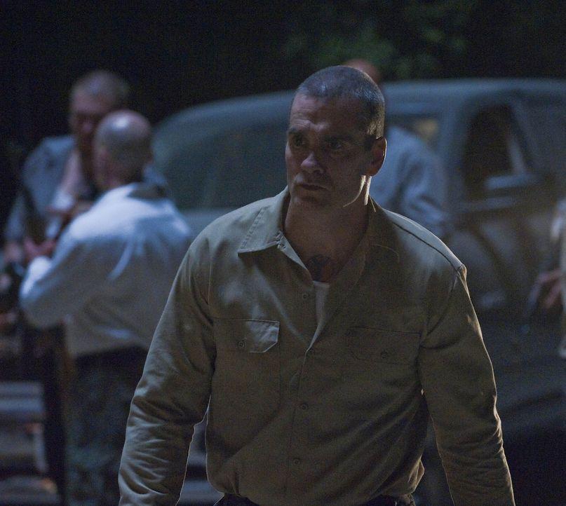 A.J. Weston (Henry Rollins) lässt sich von den Sons of Anarchy provozieren. Wird die Situation eskalieren? - Bildquelle: 2009 Twentieth Century Fox Film Corporation and Bluebush Productions, LLC. All rights reserved.