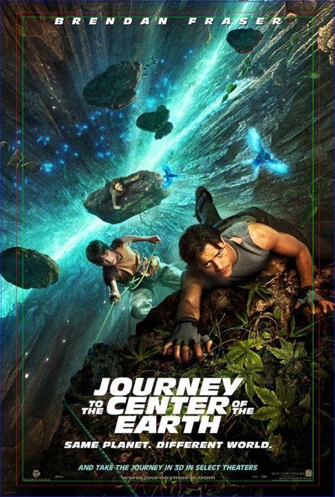 Die Reise zum Mittelpunkt der Welt - Plakatmotiv - Bildquelle: Warner Bros.