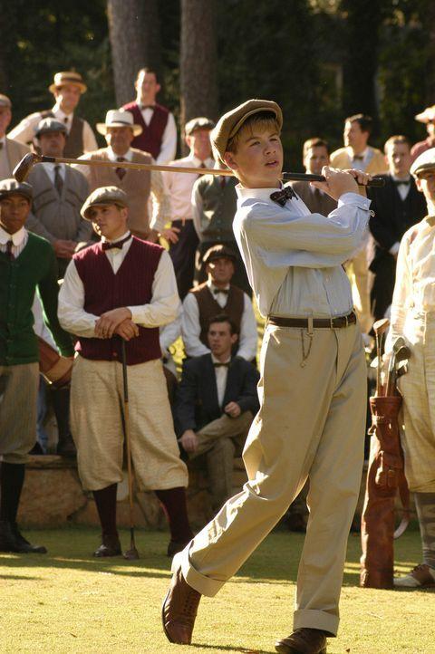 Schon als Junge entdeckte Bobby Jones (Bubba Lewis) seine Leidenschaft und sein Talent für das Golfspiel ... - Bildquelle: 2003 Bobby Jones Film, LLC. All Rights Reserved.