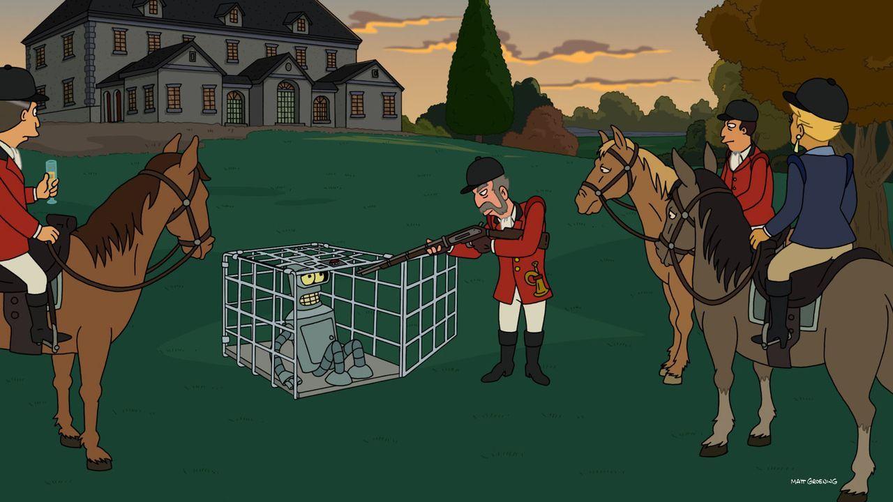 Die Fuchsjagd endet für Bender (2.v.l.) anders als geplant ... - Bildquelle: Twentieth Century Fox Film Corporation. All rights reserved.