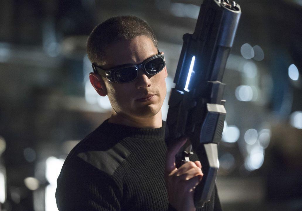 Will es mit Flash aufnehmen: Snart (Wentworth Miller) ... - Bildquelle: Warner Brothers.