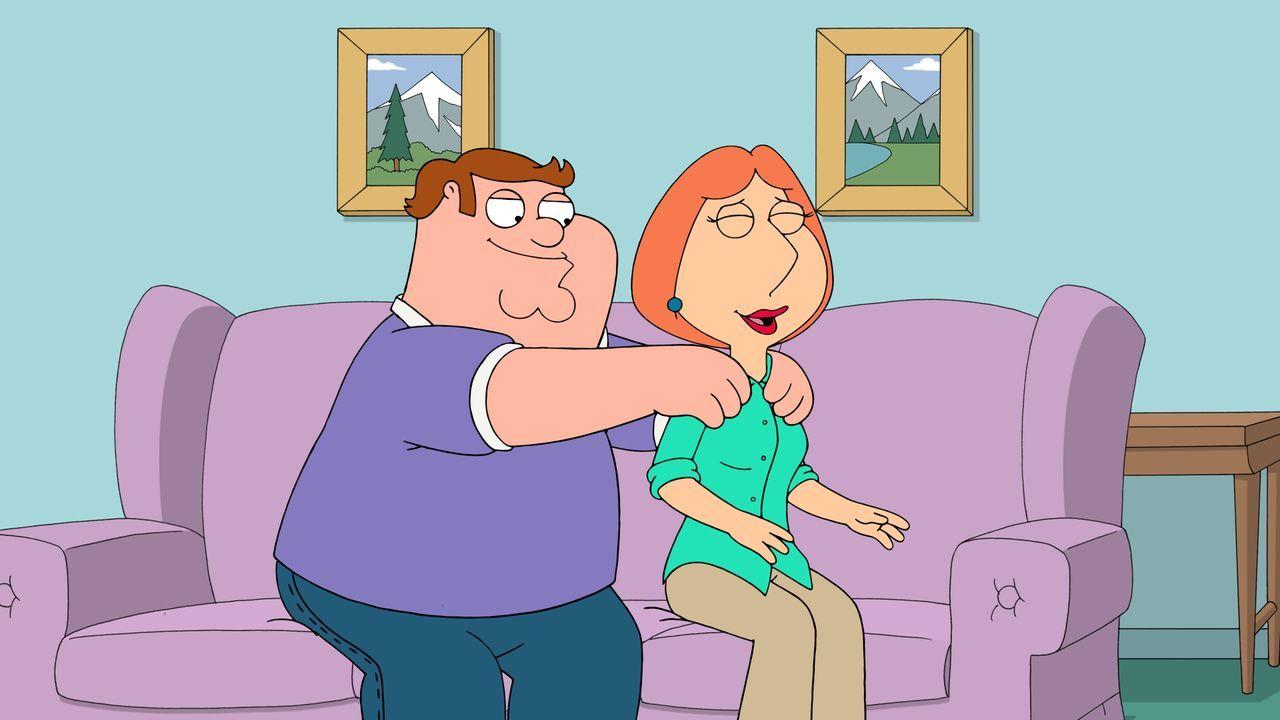 Eines von Peters Spenderkindern macht Lois (r.) den Hof und erinnert sie optisch an den Peter, in den sie sich einst verliebte ... - Bildquelle: 2016-2017 Fox and its related entities. All rights reserved.
